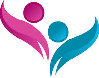 Logotipo humano Foto de Stock Royalty Free
