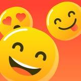 Logotipo/icono de la sonrisa Ejemplo del arte ilustración del vector