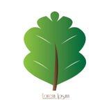Logotipo isolado da natureza Imagens de Stock Royalty Free