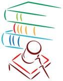 Logotipo judicial Fotos de Stock Royalty Free