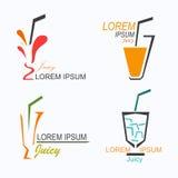 Logotipo jugoso ilustración del vector