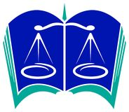 Logotipo legal Fotografia de Stock