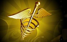 Logotipo médico Imagem de Stock