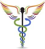 Logotipo médico stock de ilustración