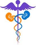 Logotipo médico ilustración del vector