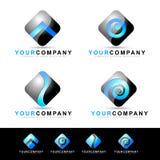 Logotipo móvel da aplicação Fotos de Stock