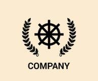 Logotipo marítimo del buey Foto de archivo libre de regalías