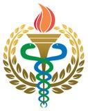 Logotipo médico de la medicina Imagen de archivo libre de regalías