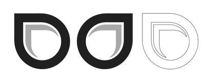 Logotipo moderno Imagens de Stock