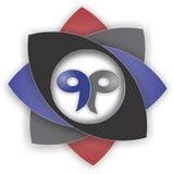 Logotipo moderno Imagens de Stock Royalty Free