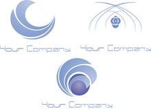 Logotipo moderno Fotografia de Stock