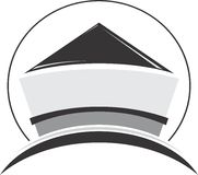 Logotipo moderno Fotografia de Stock Royalty Free