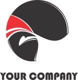 Logotipo moderno Foto de Stock Royalty Free