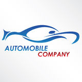 Logotipo moderno do automóvel Foto de Stock