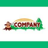 Logotipo, muestra, símbolo, diseño, ejemplo del vector, diseño, naturaleza Fotografía de archivo libre de regalías