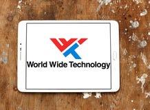 Logotipo mundial de la compañía de la tecnología fotos de archivo libres de regalías