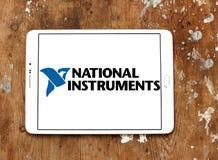 Logotipo nacional de la compañía de los instrumentos Fotografía de archivo