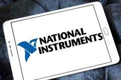 Logotipo nacional de la compañía de los instrumentos Foto de archivo