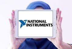 Logotipo nacional de la compañía de los instrumentos Imagen de archivo libre de regalías