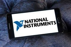 Logotipo nacional de la compañía de los instrumentos Foto de archivo libre de regalías