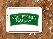 Logotipo natural del alimento para animales de California Imágenes de archivo libres de regalías