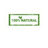 Logotipo orgánico amistoso del verde del icono del web del producto natural de Eco Fotos de archivo