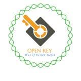 Logotipo os nossos ilustração royalty free