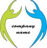 Logotipo ostentando ilustração stock