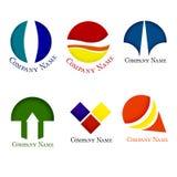Logotipo para a companhia Imagens de Stock Royalty Free