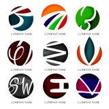 Logotipo para a companhia Imagens de Stock