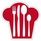 Logotipo para o restaurante Foto de Stock