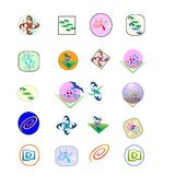 logotipo 25 para o uso dos apps Fotos de Stock