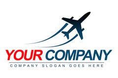 Logotipo plano Imagem de Stock