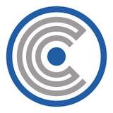 Logotipo plano Crypto Diseño, icono ilustración del vector