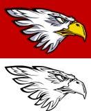 Logotipo principal da mascote da águia Foto de Stock Royalty Free