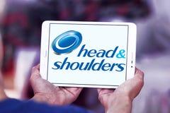 Logotipo principal y de los hombros Fotografía de archivo libre de regalías