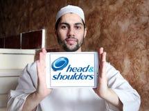 Logotipo principal y de los hombros Fotos de archivo
