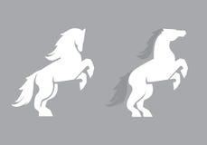 Logotipo profissional moderno com mustang para uma equipe de esporte Foto de Stock Royalty Free