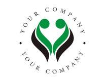 Logotipo - proteção da vida Imagens de Stock Royalty Free