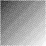 Logotipo quadrado de intervalo mínimo do vetor, símbolo, ícone, projeto Ilustração pontilhada sumário no fundo branco Imagens de Stock Royalty Free