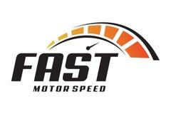 Logotipo rápido Fotografia de Stock Royalty Free