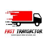 Logotipo rápido de la entrega