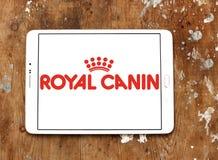Logotipo real del alimento para animales del canin Foto de archivo libre de regalías