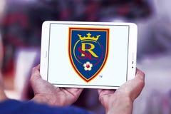 Logotipo real do clube do futebol de Salt Lake Fotografia de Stock