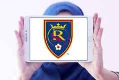 Logotipo real do clube do futebol de Salt Lake Fotografia de Stock Royalty Free