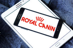 Logotipo real dos alimentos para animais de estimação do canin Fotografia de Stock Royalty Free