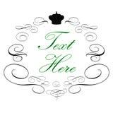 Logotipo real elegante ilustração do vetor
