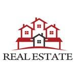 Logotipo residencial Imagens de Stock Royalty Free