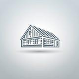 Logotipo ruso del hata ilustración del vector