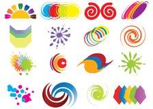 Logotipo Serie Foto de Stock